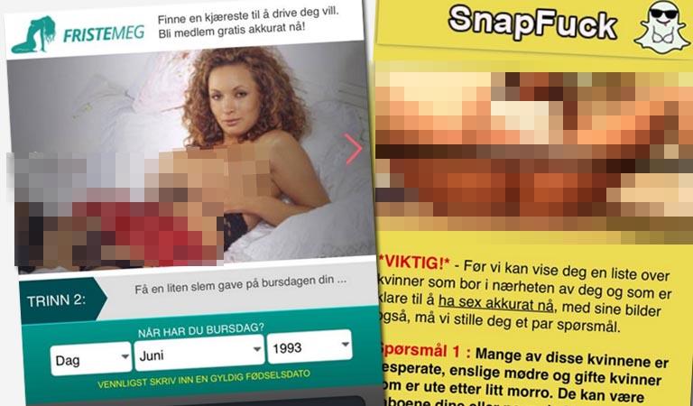 Enslig mor på jakt etter sex