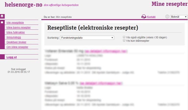 resepter i norge