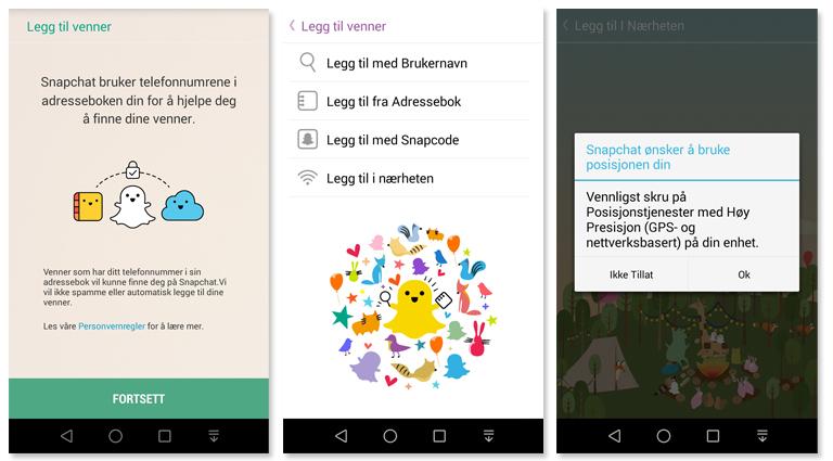 Kom i gang med Snapchat Telenor