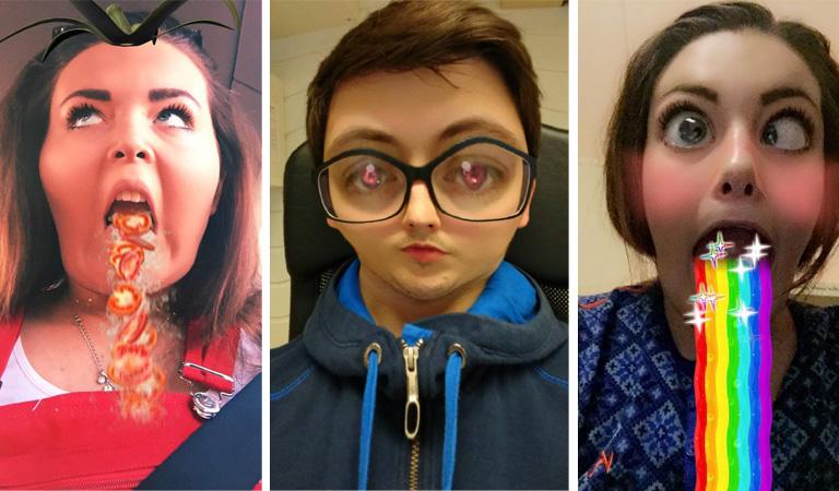 ansikts redigering app