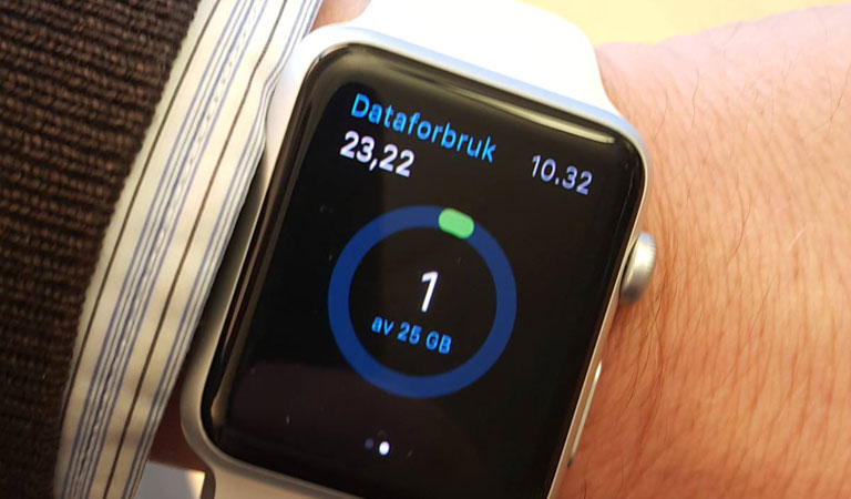 Nå er Mitt Telenor på Apple Watch