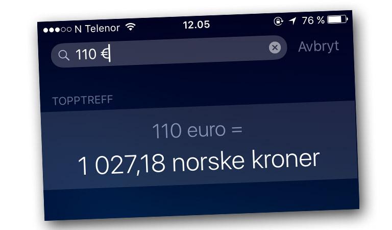finn valuta calculator