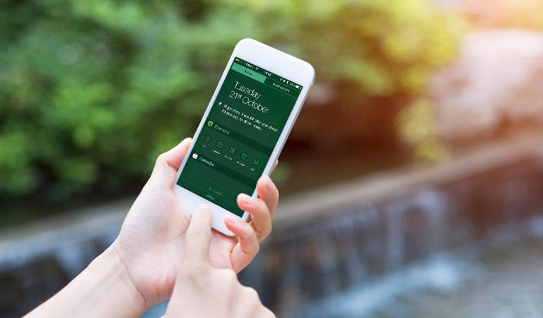 iTranslate tastatur til iPhonen er enkelt, følg dette