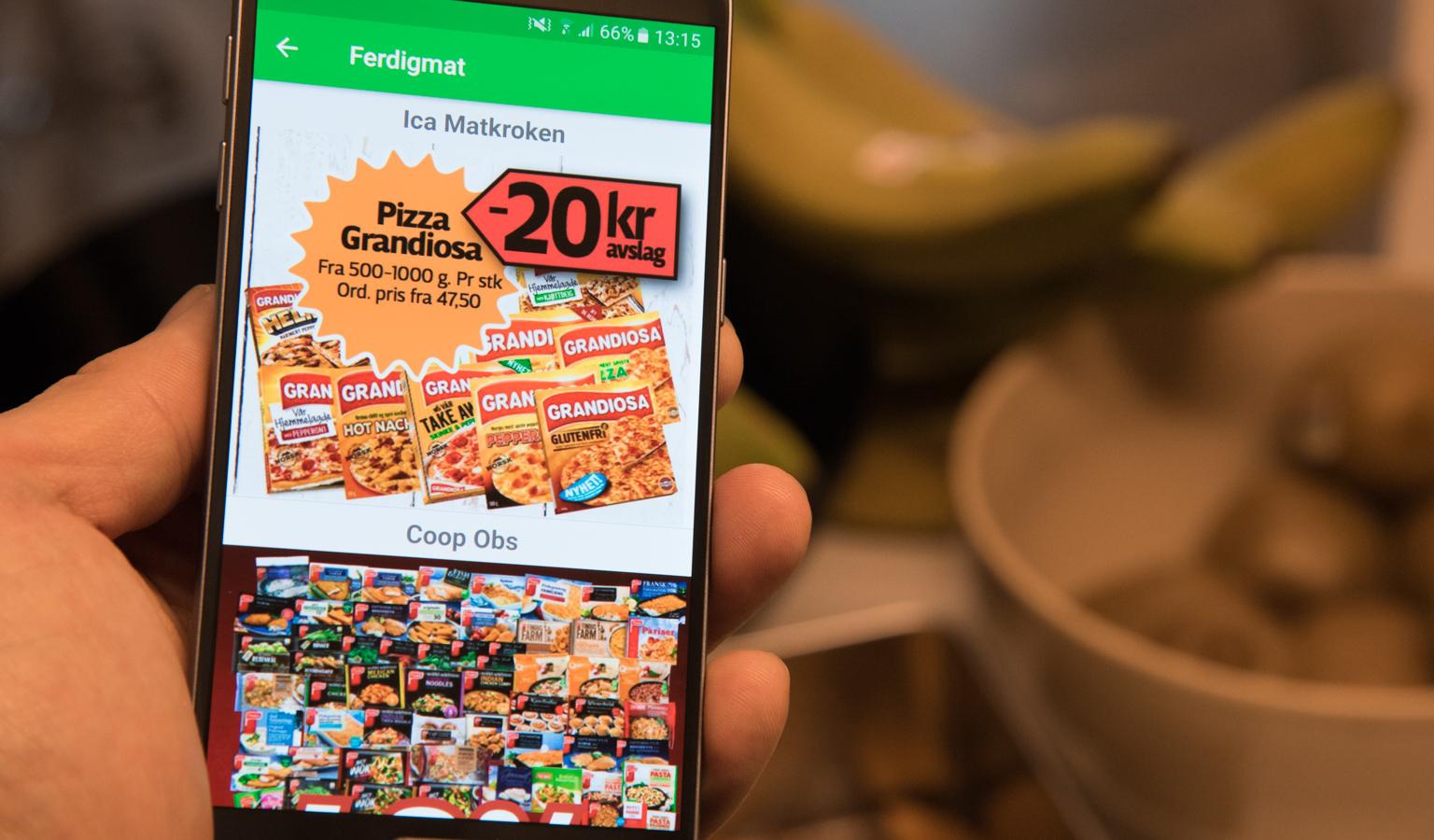 8f30cab7 Alle gode mattilbud samlet i én app - Telenor