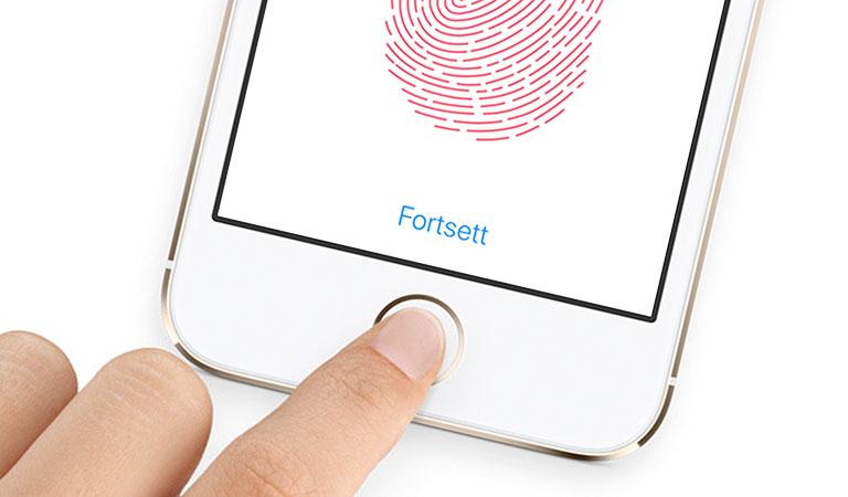 32e52613 Dropp passord og koder – lås opp med fingeren - Telenor